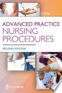 """Advanced Practice Nursing Procedures"" by Margaret R Colyar"