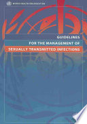 Guidelines for the Management of Sexually Transmitted Infections