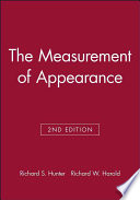 The Measurement Of Appearance Book PDF