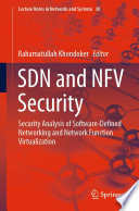 SDN and NFV Security Book
