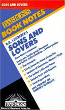 D.H. Lawrence's Sons and Lovers Pdf/ePub eBook