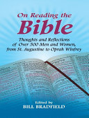 On Reading the Bible