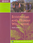 Ecosystems and Human Well being