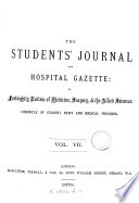 The Students  Journal  and Hospital Gazette