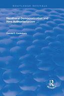 Neoliberal Democratization and New Authoritarianism