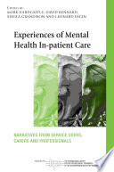 Experiences Of Mental Health In Patient Care