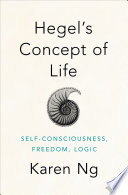 Hegels Concept Of Life Book PDF