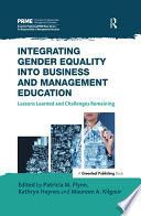 Integrating Gender Equality into Business and Management Education Book