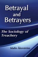 Betrayal and Betrayers [Pdf/ePub] eBook