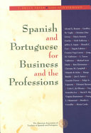 Spanish and Portuguese for Business and the Professions