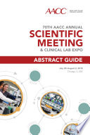 70th AACC Annual Scientific Meeting Book