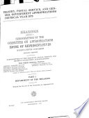 Treasury Postal Service And General Government Appropriations For Fiscal Year 1979