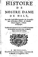 Histoire de No[s]tre Dame de Hale