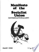 Manifesto of the Socialist Union (Internationalist).