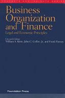 Business Organization and Finance