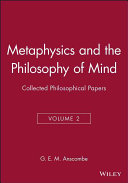 Metaphysics and the Philosophy of Mind