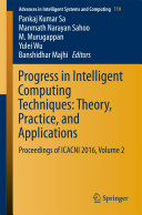 Progress in Intelligent Computing Techniques  Theory  Practice  and Applications
