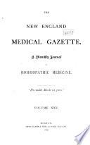 The New England Medical Gazette