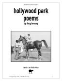 Pdf Hollywood Park Poems