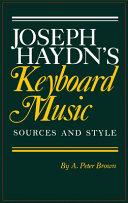 Joseph Haydn s Keyboard Music Book PDF