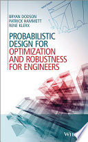 Probabilistic Design For Optimization And Robustness For Engineers Book PDF