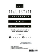 The Real Estate Investor s Tax Guide