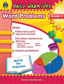 Problem Solving Math  Grade 1