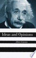 Ideas And Opinions Book