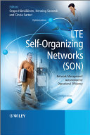 LTE Self-Organising Networks (SON) Pdf/ePub eBook