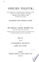 Species Filicum: Scolopendrium