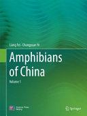 Amphibians of China