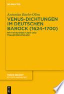 Venus-Dichtungen im deutschen Barock (1624-1700)
