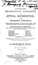 Illustrated Descriptive Catalogue of Optical  Mathematical  and Philosophical Instruments
