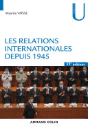 Pdf Les relations internationales depuis 1945 - 17e éd. Telecharger