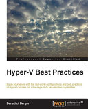 Hyper V Best Practices