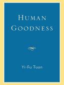 Human Goodness