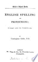 English spelling and pronouncing  Grade 1 3 Book