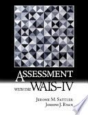 Assessment With The Wais Iv Book PDF