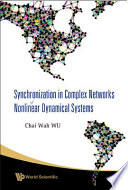 Synchronization in Complex Networks of Nonlinear Dynamical Systems Book