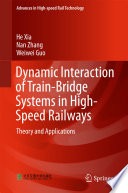 Dynamic Interaction Of Train Bridge Systems In High Speed Railways Book PDF