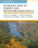 Introduction to Forest and Renewable Resources Book