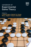 Handbook Of Experimental Game Theory
