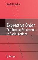 Pdf Expressive Order