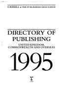 Directory of Publishing 1995