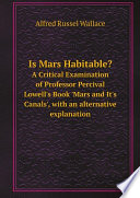 Is Mars Habitable