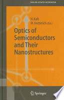 Optics of Semiconductors and Their Nanostructures