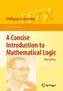 A Concise Introduction to Mathematical Logic Pdf/ePub eBook