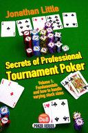 Pdf Secrets of Professional Tournament Poker, Volume 1