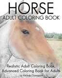 Horse Adult Coloring Book