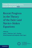Recent Progress in the Theory of the Euler and Navier-Stokes Equations
